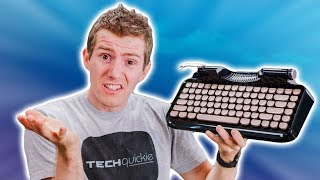 This AWFUL Typewriter Keyboard Raised $350K
