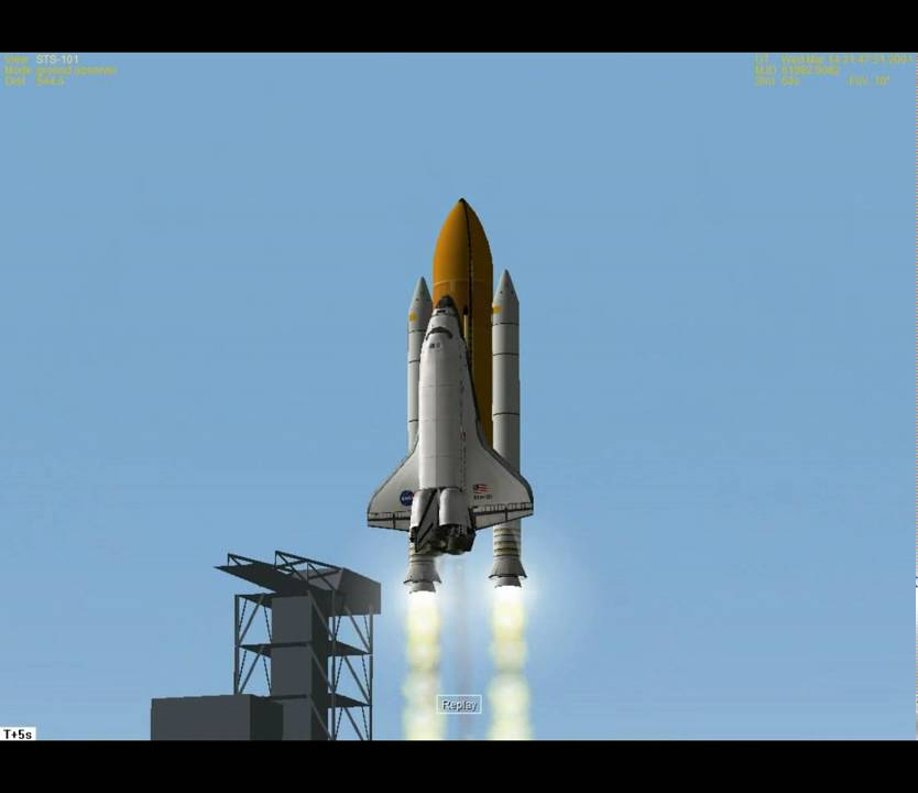 space shuttle launch ground track - photo #32