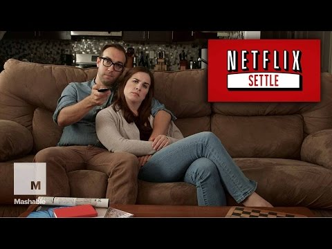 Netflix Settle: A New Feature For Couples Who Can't Decide What To Watch  Mashable Humor