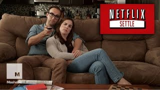 Netflix Settle: A New Feature For Couples Who Can't Decide What To Watch | Mashable Humor