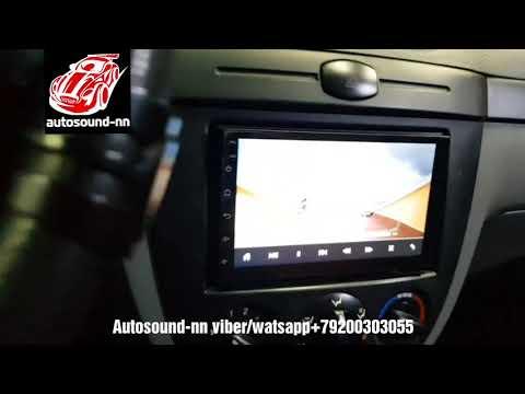 """2 Din магнитола ZH Chevrolet Lacetti 7""""(4 ядра 2/32)android 8.1"""