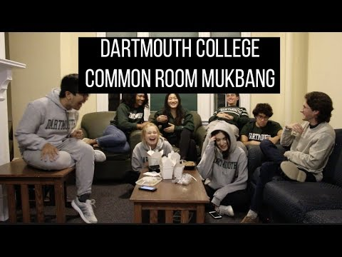 Dartmouth College Mukbang | Senior Year & College Application Advice
