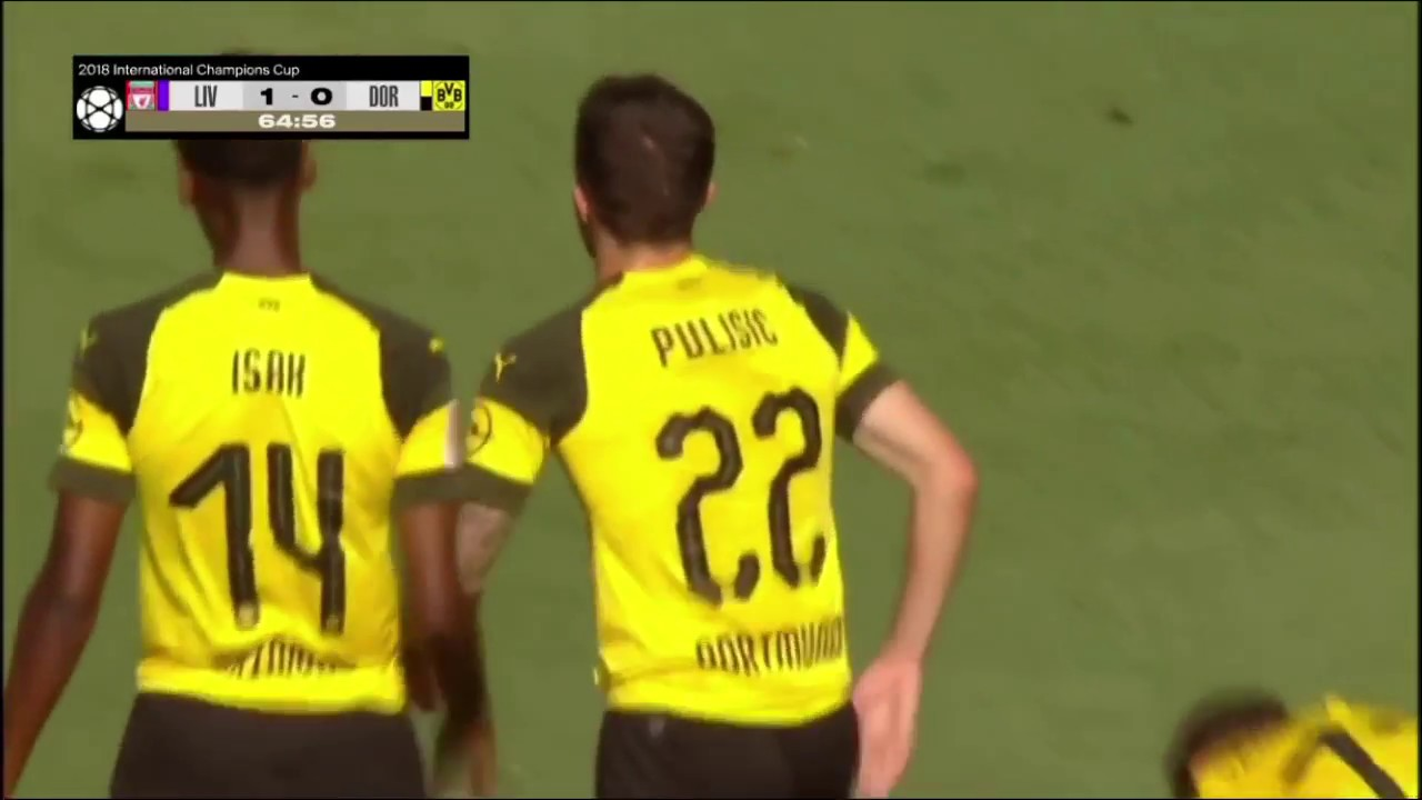 Download Christian Pulisic, International Champions Cup vs Liverpool