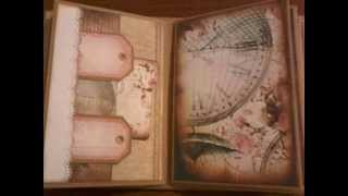 Vintage Mini Album using Dreamz EtCetera Papers