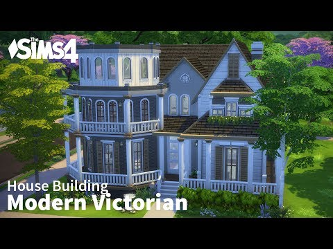 The Sims 4 House Building - Modern Victorian
