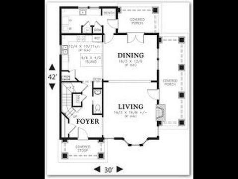 Planos de casas con medidas youtube for Planos para remodelar mi casa
