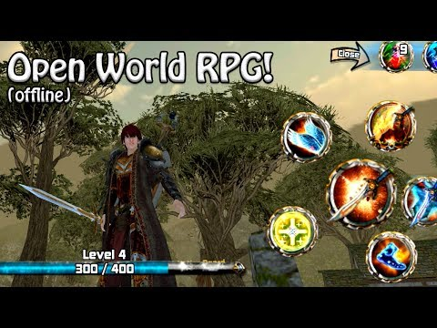 Gile Grafiknya | Crimson Warden: Clash of Kingdom [ENG] Android Open World RPG (Indonesia)
