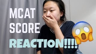 REACTING TO MY MCAT SCORE (IN SHANGHAI!)