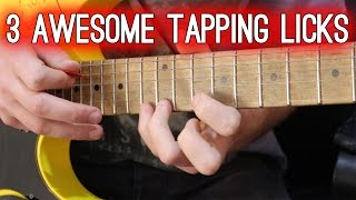 3 Awesome Tapping Licks in A Minor