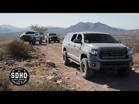 SDHQ Built Raptor and Tundra Test Day