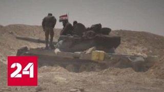 Удар по Сирии: США не дал Дамаску взять под контроль сирийско-иракскую границу