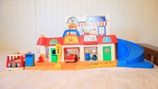 Fisher Price Little People Main Street 1986 1980s Little People Model 2500 Little People Fire Truck