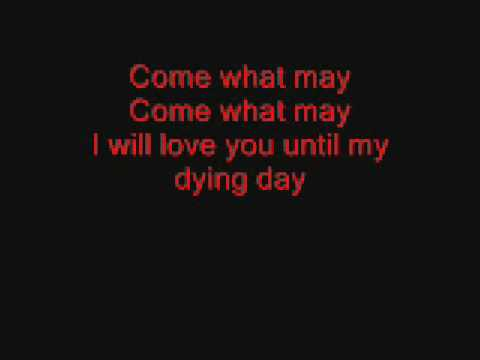 Come what may  lyrics