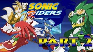 Sonic Riders HD Part 2 - Sonic Vs Jet