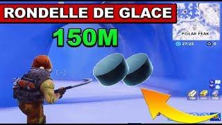 FAIRE GLISSER UN PALET GIVRÉ SUR 150 MÈTRES DÉFI SEMAINE 6 sur FORTNITE BATTLE ROYAL !