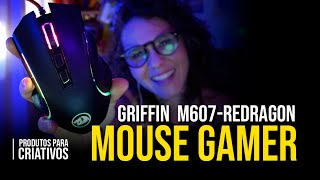 "Review ""Mouse Gamer Griffin  M607 Redragon"""