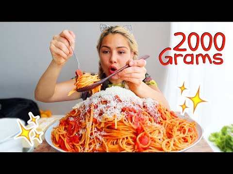 Spaghetti 스파게티 Mukbang 먹방