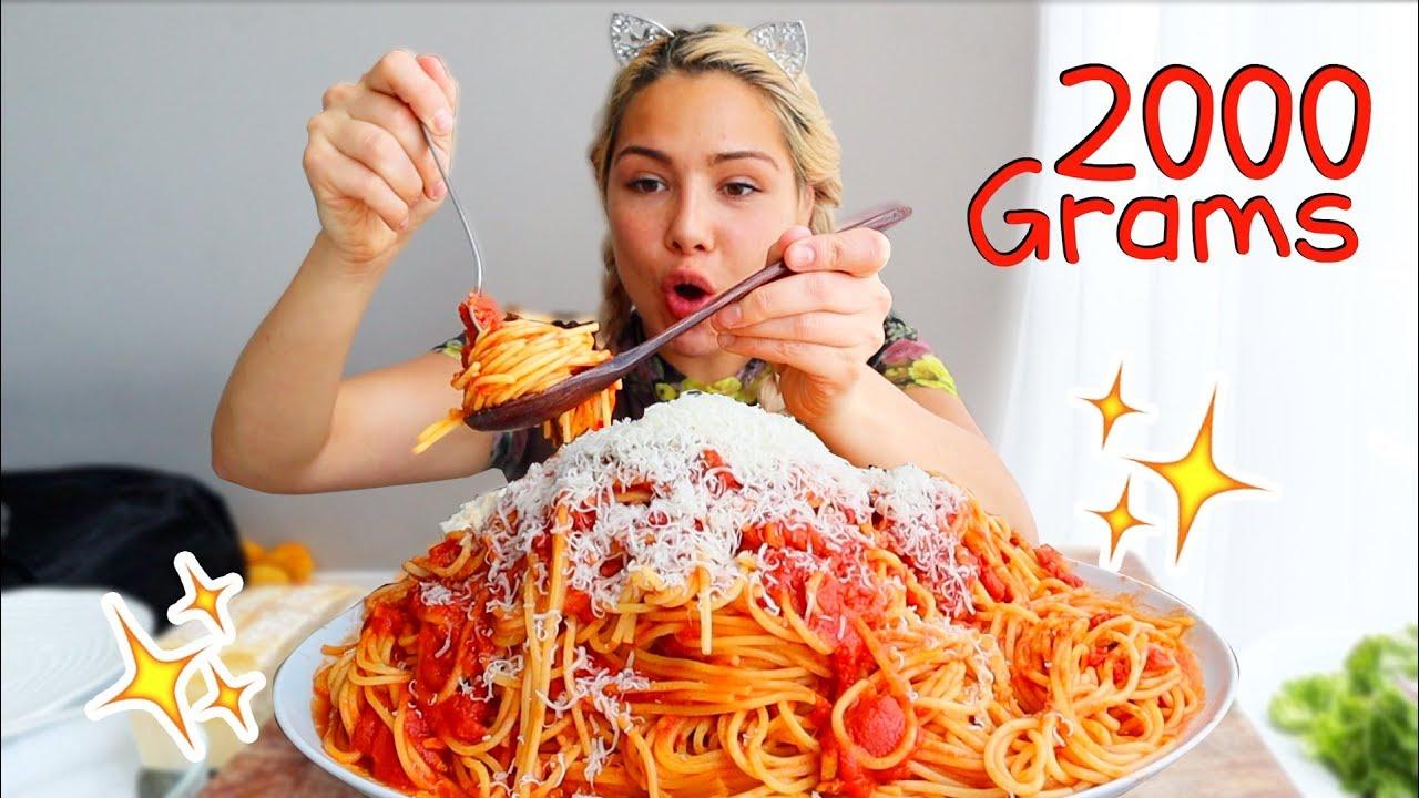 spaghetti-스파게티-mukbang-먹방