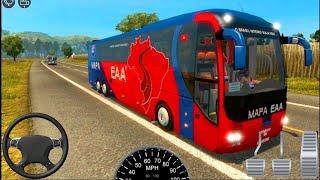 #العاب_سيارات_محاكي قياده حافلة ركاب المدينة_حافله القيادة 3D screenshot 2