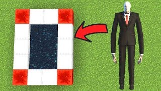 Minecraft : HOW TO MAKE A PORTAL TO THE SLENDERMAN DIMENSION! (Ps3/Xbox360/PS4/XboxOne/PE/MCPE)
