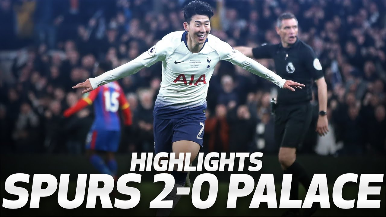 Heung Min Son Scores First Premier League Goal At New Stadium Highlights Spurs 2 0 Palace Youtube