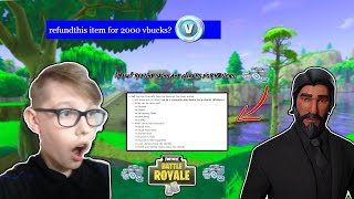 *NEW* REFUNDING SYSTEM IN FORTNITE!? *MUST SEE* + 1K Special