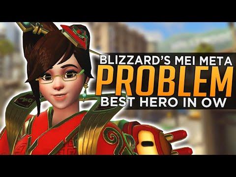 Blizzard's Mei Meta Problem - BEST Hero in Overwatch