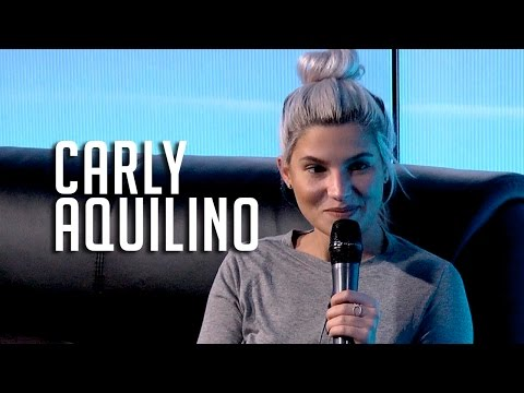 Carly Aquilino Talks Netflix & Chill + Her Most Embarrassing Moment!