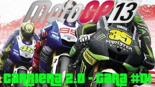 MotoGP 13 PC - Gameplay ITA - Carriera 2.0 Classe MotoGP Difficoltà REALE - Gara #01