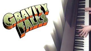 Gravity Falls Main Theme Piano Cover