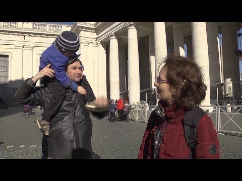Mom of autistic child attracts pope's attention: Everyday is a surprise