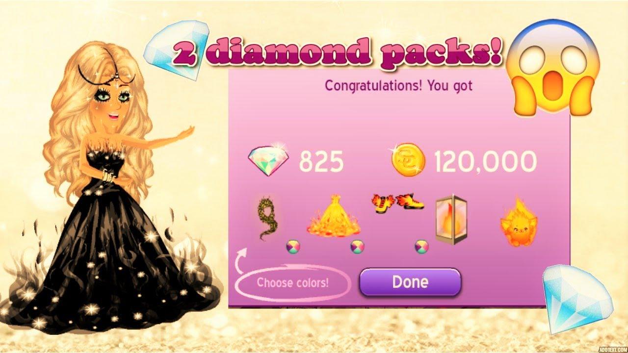 Msp 2 Diamond Packs Youtube