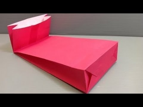 how to make paper gift bags