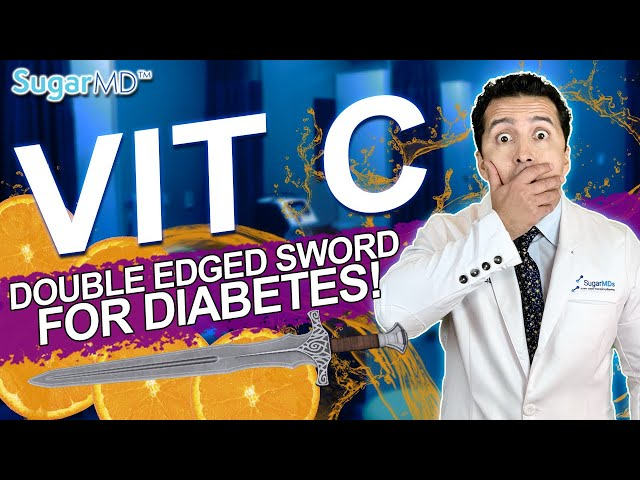 Vitamin C For Diabetes? What You Didn't Know! SugarMD