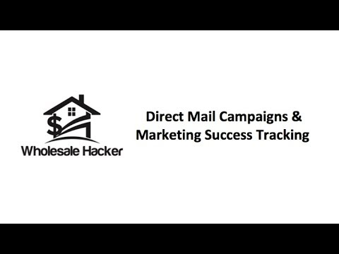 Wholesale Hacker - Direct Mail Campaigns & Marketing Success Tracking