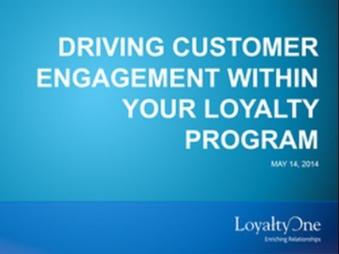 Driving Engagement within Your Loyalty Program