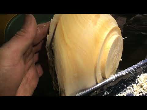 From Old Growth Alaskan Firewood to Wood Bowl