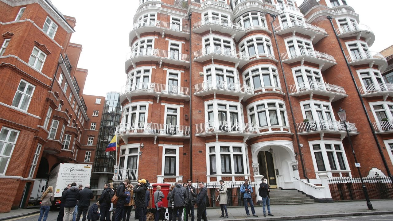 How Julian Assange ended up in the Ecuadoran Embassy in London, and why he's still there 7 years later