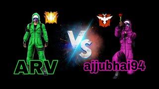 ARV Vs Ajjubhai94 Op Gamplay ||ARV Gaming