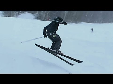 DOUBLE BLACK DIAMOND SKIING! ♦♦