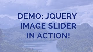 Demo: jQuery Image Slider in Action! thumbnail