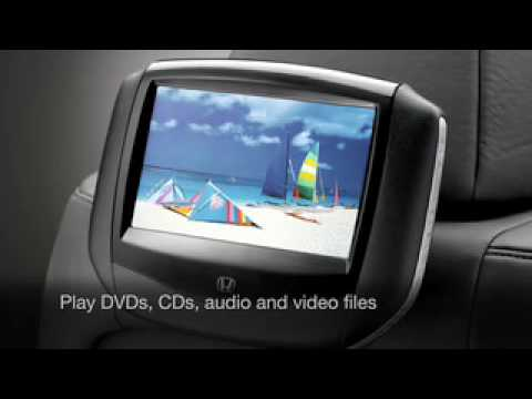 Honda Genuine Rear Entertainment System Official Video