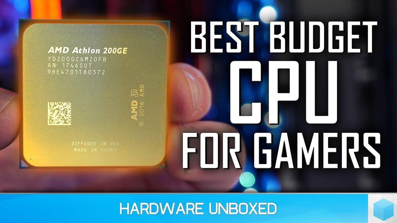 Athlon 200GE vs  Pentium G5400 vs  Ryzen 3 2200G, The Best Entry Level  Gaming CPU Battle