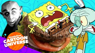 50 LOL Moments With SpongeBob! 😂 | Nickelodeon Cartoon Universe