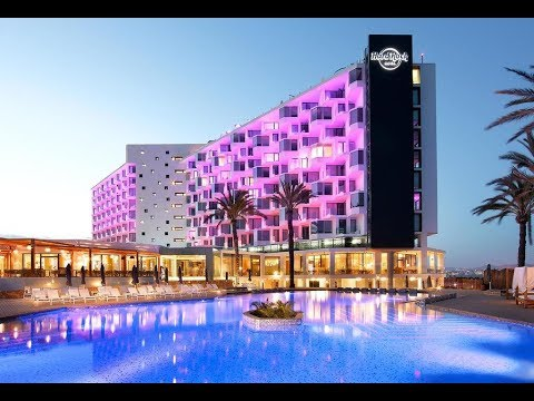 Hard Rock Hotel Ibiza, Playa d'en Bossa, Ibiza, Spain