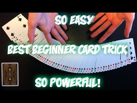 The BEST Card Trick For Beginners: Easy And Awesome Card Trick Revealed!