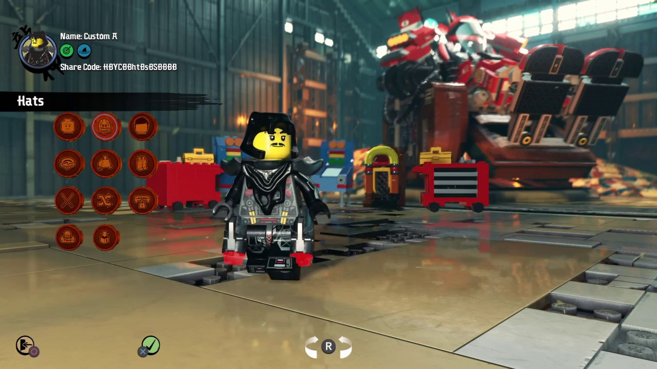 the lego® ninjago movie videogame codes for hunter  youtube