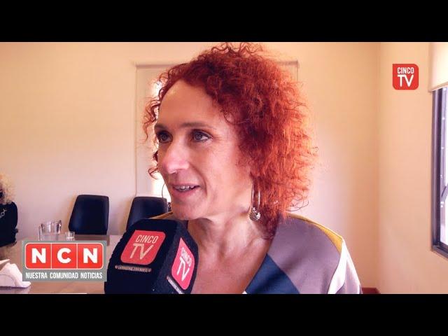 CINCO TV - Tras la reunión con Malena Galmarini, Gladys Pollan dialogó con medios locales