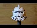 Шлем из звездных войн. Как сделать из пластилина.
