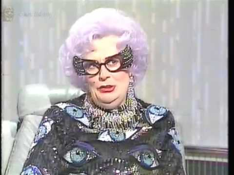 The Dame Edna Exsperiance! Part Episode 30min (VHS Capture)